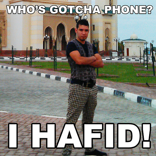 Meet Hafid, the iPhone thief that created a photoblog without even knowing