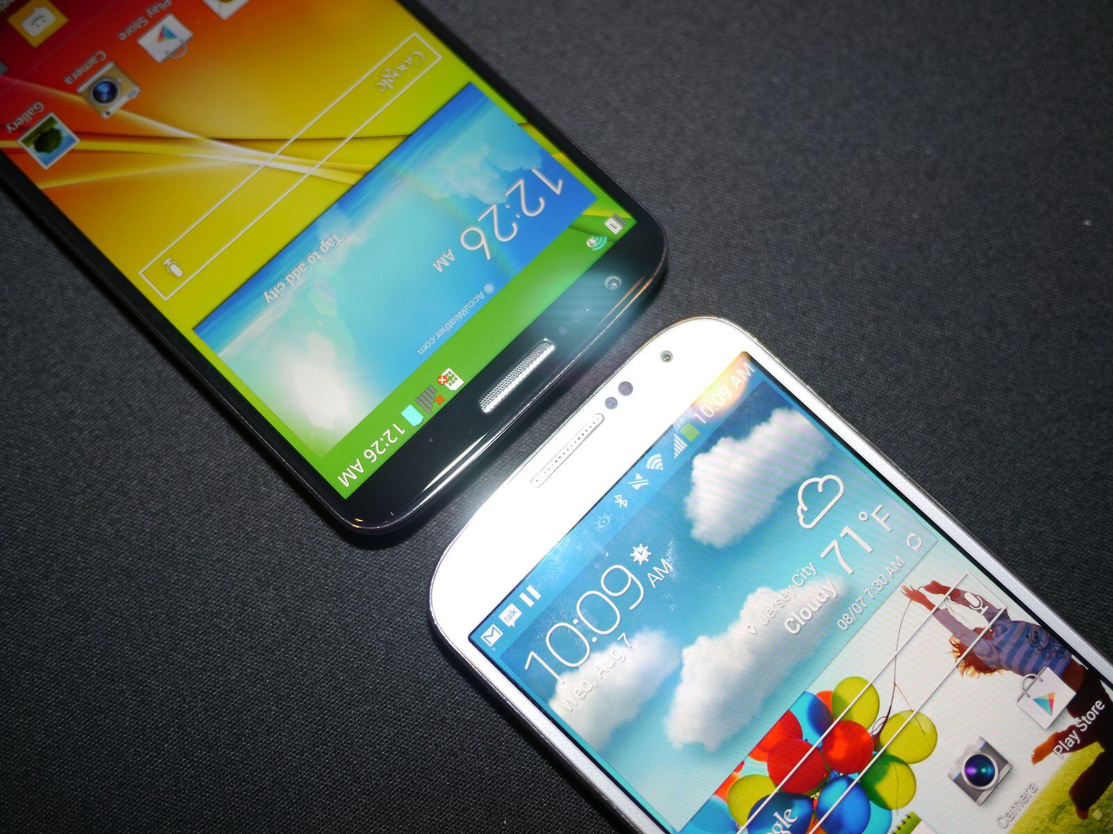 LG G2 VS Galaxy S4