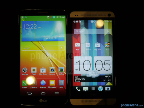 LG G2 vs HTC One