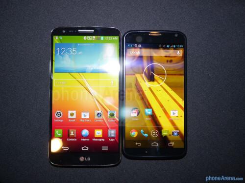 LG G2 vs Motorola Moto X