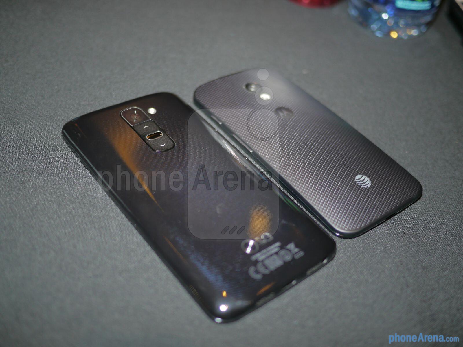 LG G2 VS Moto X