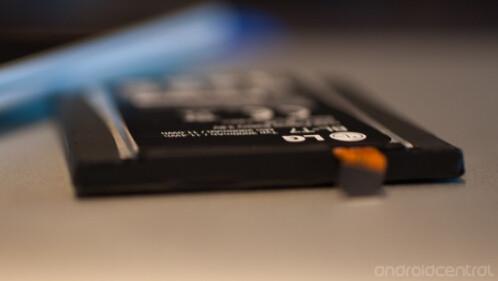 LG's stepped battery