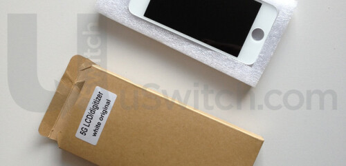 Next-gen iPhone might be the iPhone 5G, screen and front panel spotted