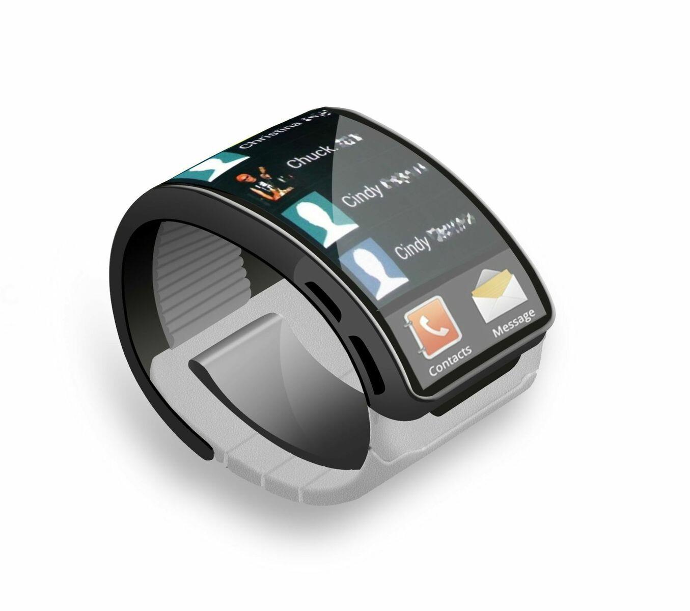 Samsung Gear smartwatch concept shows a future of flexible ...
