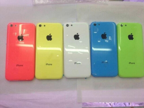 A collection of leaked iPhone 5C/Lite images