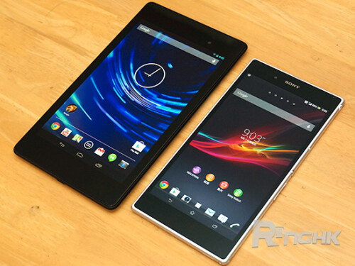 Sony Xperia Z Ultra vs 2013 Nexus 7