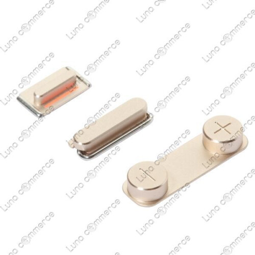 Champagne colored parts for the Apple iPhone 5S