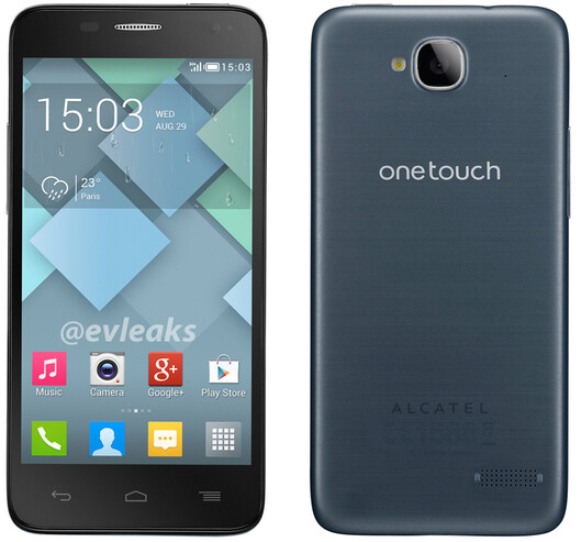 Alcatel One Touch Idol Mini - First image of the Alcatel One Touch Idol Mini leak out, release by the end of the year