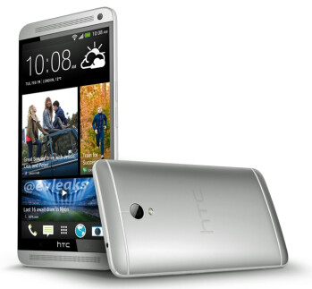 "HTC One Max ""non-final"" press image leaks"