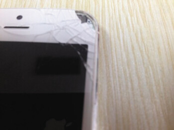This Apple iPhone 5 exploded, injuring the owner's eye