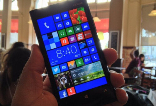 A render of what a Lumia phablet running Windows Phone may end up looking like