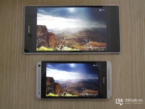 Display comparison: Sony Xperia Z Ultra vs HTC One