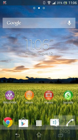 Update to the Sony Xperia SP