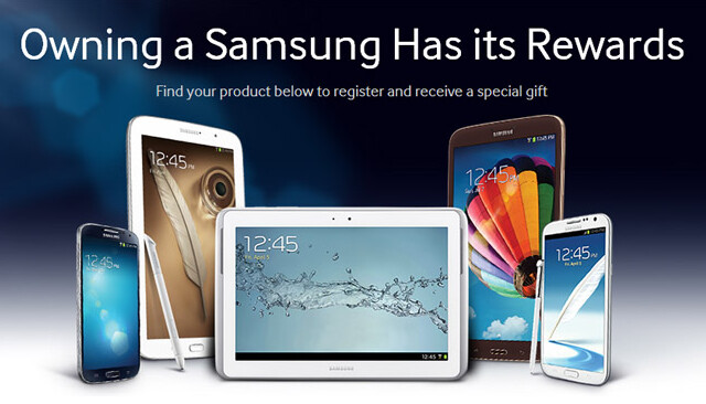 Samsung is giving away freebies to those who buy certain Samsung tablets - Samsung offers giveaways to those buying certain Samsung tablets