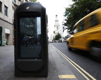 This hi-tech trashcan tracks smartphone signals in London