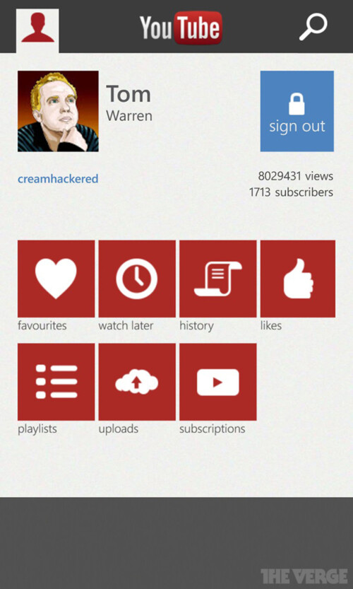 Windows Phone gets a new YouTube app