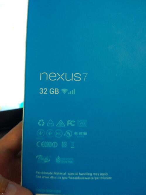 LTE Google Nexus 7 tablet