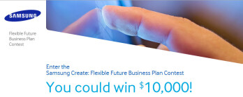 Have a great idea for a new product using a flexible display? You could win $10,000 from Samsung