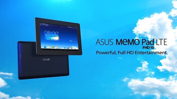 ASUS MeMo Pad FHD 10 LTE tablet official in promo video: 'powerful, Full HD entertainment'