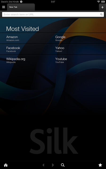 Update to Amazon's Silk browser