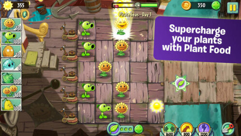 Plants vs Zombies 2 is here