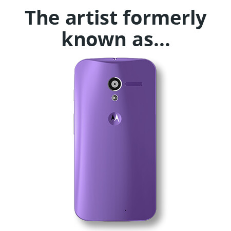 The artist formerly known as...