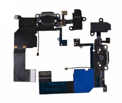 Charger connector flex cable