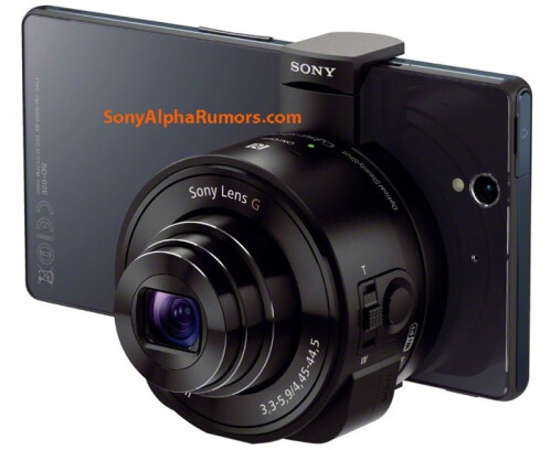 Sony's interchangeable smartphone lens