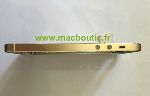 Leaked parts for the Apple iPhone 5S