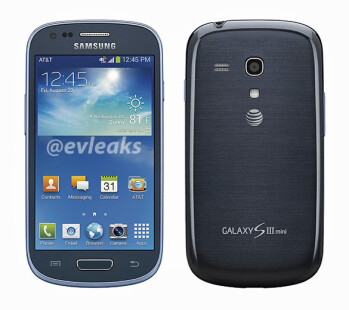 The Samsung Galaxy S III mini for AT&T