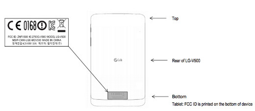 The LG G Pad visited the FCC - LG G Pad pays a visit to the FCC