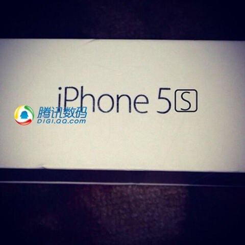 iPhone 5S packaging photos
