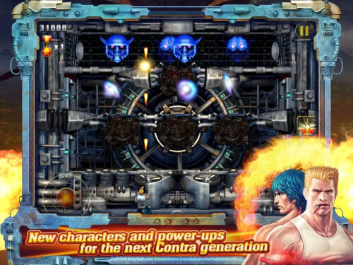 Contra: Evolution arrives on Android
