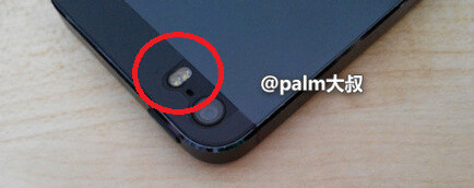 The Alleged Apple IPhone 5S Models L And Dual LED Flash On Another Back