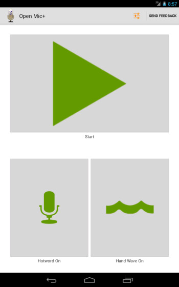 Open Mic+ offers another alternative to get Touchless Control on your Android device