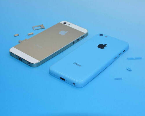 iPhone 5S and iPhone 5C: side-by-side along with the screen, the camera and other