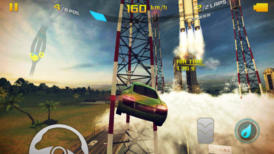 Gameplay like an action movie - Asphalt 8: Airborne Review