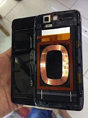 Photos allegedly of the Motorola DROID 5