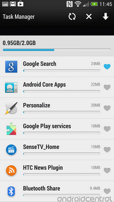 Screenshots from the pre-release ROM containing the Android 4.3 update for the international HTC One - Pre-release version of Android 4.3 firmware for international HTC One leaks