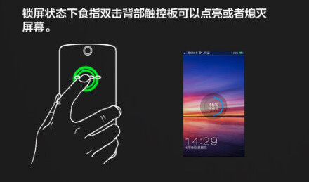 Oppo reconfirms N1 will have a rear touch panel, shows all its uses