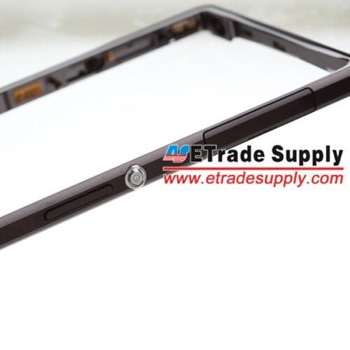 Sony Xperia Z1's metal frame