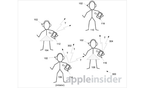 Apple's Silent Disco-like patent