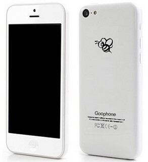 Mock up of the Goophone i5C