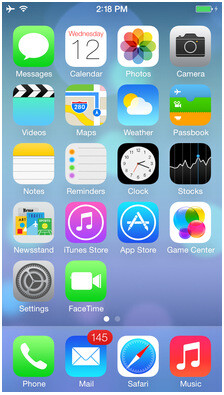 The iPhone 5C will come running iOS 7