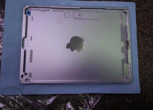More iPad 5 photos, and the unsurprising news that iPads won't be part of the Sept. 10th event