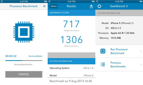 Geekbench 3 - Android, iOS - $0.99