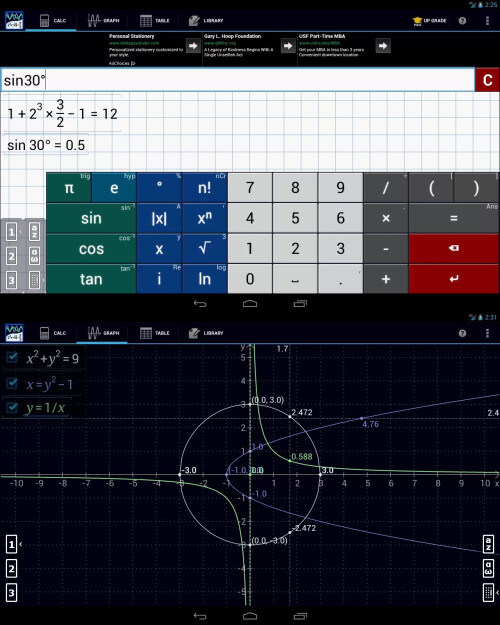 Graphing Calculator - Android - Free