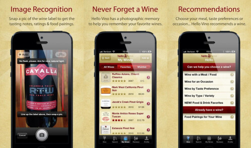 Hello Vino - Android, iOS - Free