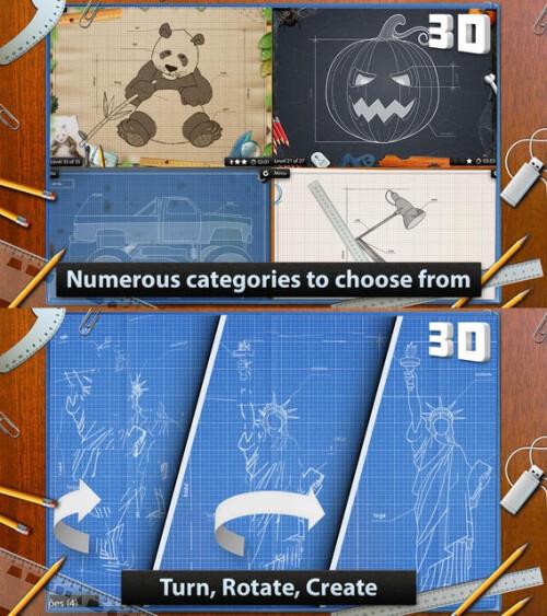 Blueprint 3D - Android, iOS - $1.99
