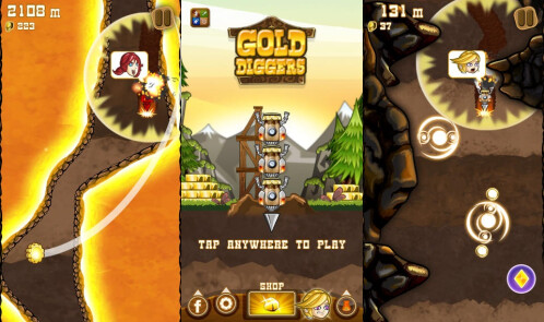 Gold Diggers - iOS - Free